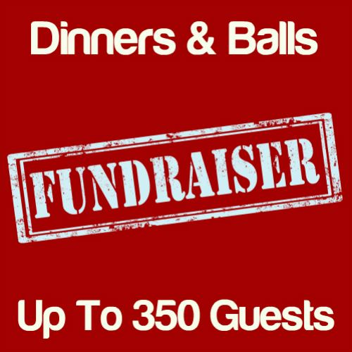 Fundraising Dinners & Balls Up To 350 Guests Icon