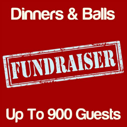 Fundraising Dinners & Balls Up To 900 Guests Icon