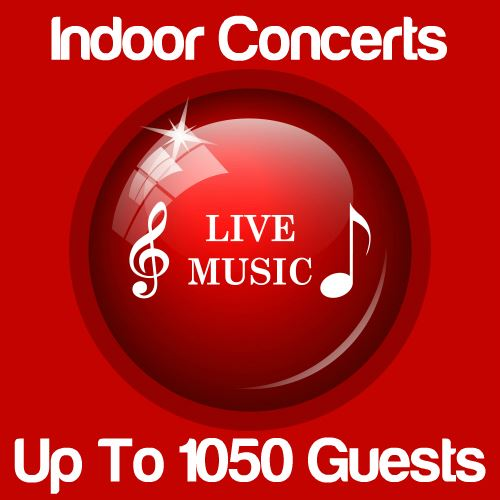 Indoor Music Concert Up To 1050 Guests Icon