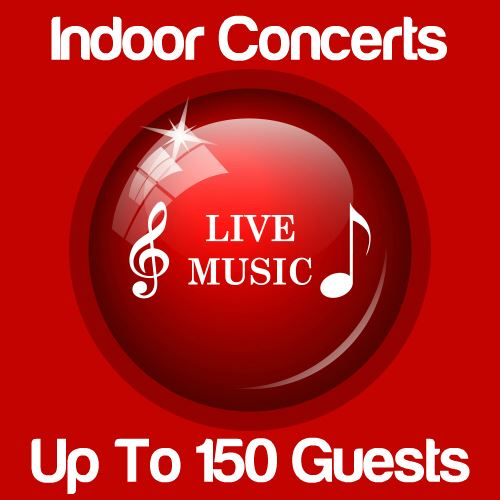 Indoor Music Concert Up To 150 Guests Icon