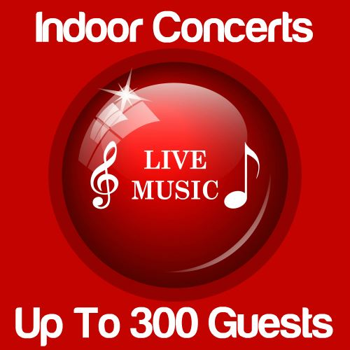 Indoor Music Concert Up To 300 Guests Icon