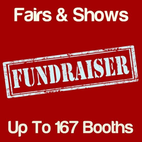 Fundraiser Fairs & Shows Up To 167 Booths