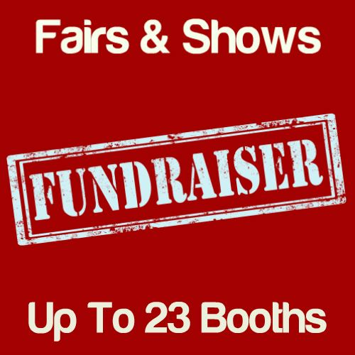 Fundraiser Fairs & Shows Up To 23 Booths Icon
