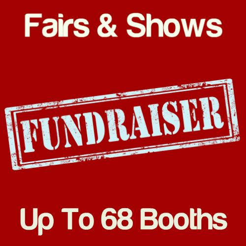 Fundraiser Fairs & Shows Up To 68 Booths Icon