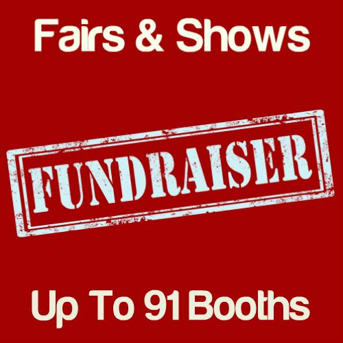 Fundraiser Fairs & Shows Up To 91 Booths Icon
