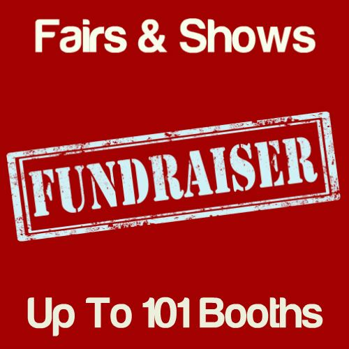 Fundraiser Fairs & Shows Up To 101 Booths Icon