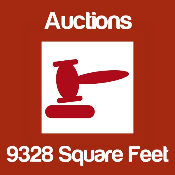 Auctions Up To 9328 Square Feet Icon