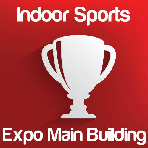 Indoor Sporting Events: Expo Main Building Icon