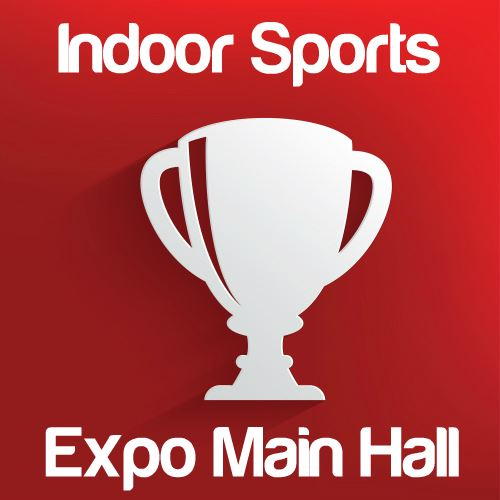 Indoor Sporting Events: Expo Main Hall Icon