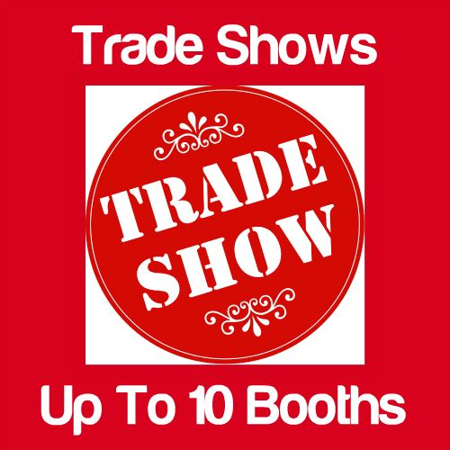 Trade Shows Up to 10 Booths Icon