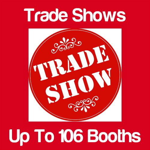 Trade Shows Up to 106 Booths Icon