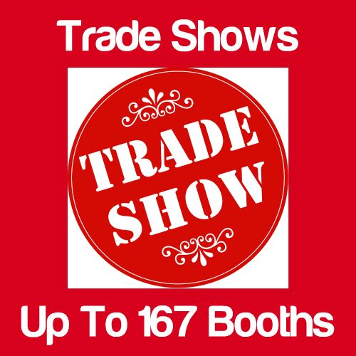 Trade Shows Up to 167 Booths Icon