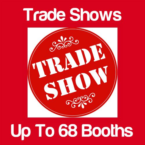 Trade Shows Up to 68 Booths Icon