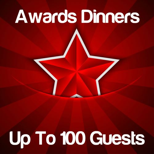 Awards Dinners Up to 100 Guests Icon
