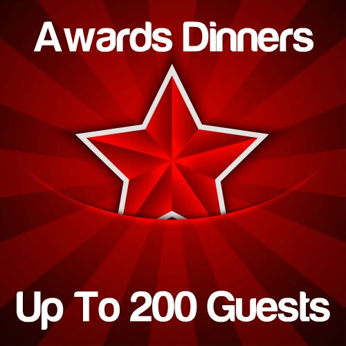 Awards Dinners Up to 200 Guests Icon