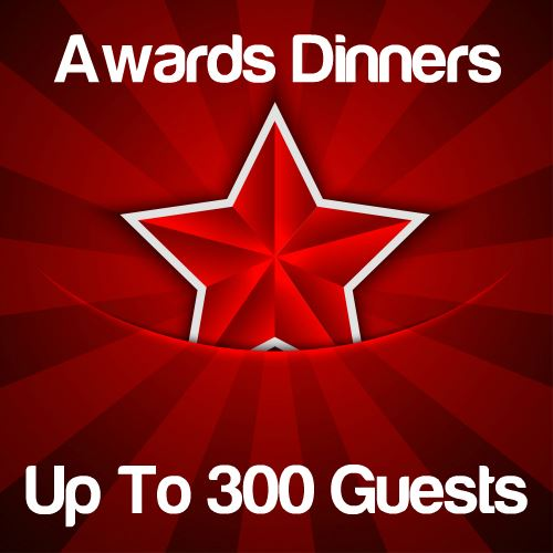Awards Dinners Up to 300 Guests Icon