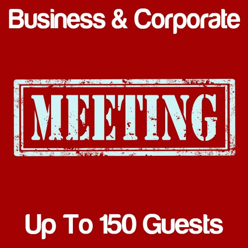 Business Meeting Up to 150 Guests Icon