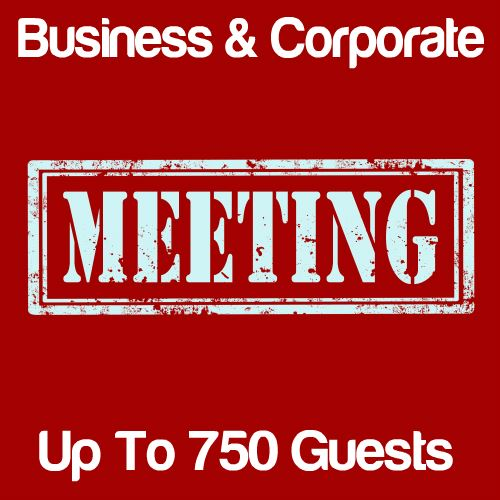 Business Meeting Up to 750 Guests Icon