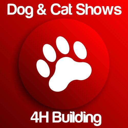 Dog & Cat Shows: 4H Building Icon