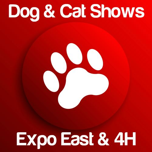 Dog & Cat Shows: Expo East & 4H Buildings Icon