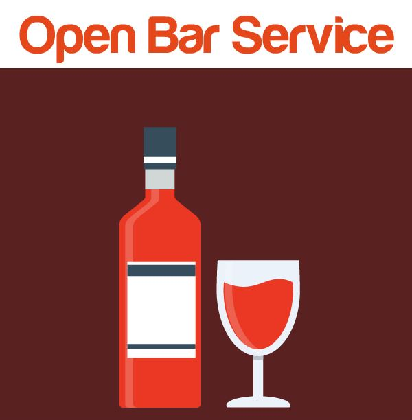 Learn about our open bar package